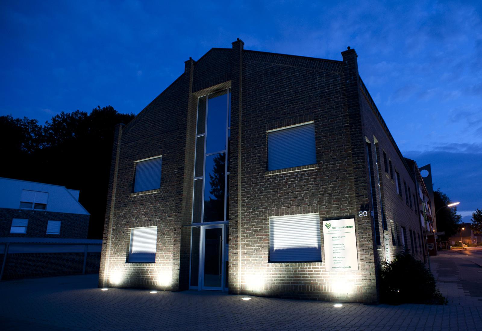 Gebäude Ansicht - Moeller und Cyganek - Steuerberater Möller und Cyganek